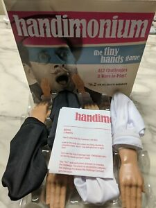 Mattel Games HANDIMONIUM The Tiny Hands Game 112 Challenges new wit sealed cards