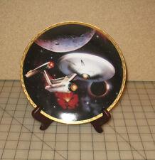 Star Trek Tos Enterprise Ncc-1701 Collector Plate - #0608B Hamilton Collection