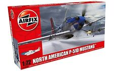 Airfix North American P-51D Mustang 1:72 Scale Plastic Model Plane A01004A