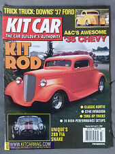 KIT CAR SPECIALTY AUTOMOTIVE MAGAZINE 2002 MARCH APRIL 35 CHEVY COBRA 37 FORD