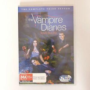 The Vampire Diaries Season 3 DVD Region 4 AUS TV Series - Drama