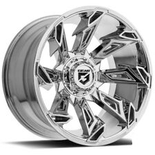 "Gear Alloy 752C Slayer 22x12 6x135/6x5.5"" -44mm Chrome Wheel Rim 22"" Inch"