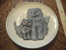 Goebel Mothers Series Second Edition Mother Cat & Kitten Plate 1976