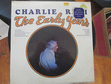 """SEALED/New LP, Charlie Rich, """"The Early Years"""", Country Sun 12"""" Record"""