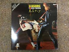 """Original TOKYO TAPES by THE SCOPIONS Double Vinyl 12"""" LP Record"""