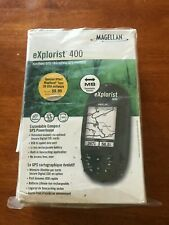 Magellan eXplorist 400 Handheld Waterproof Gps Receiver Bundle , Tested