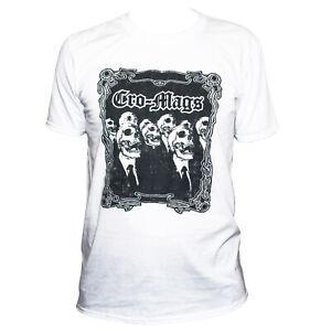 Cro-Mags Hardcore Punk Rock Metal Music Skull Poster T shirt Classic Unisex Fit