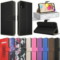 For LG K42 Case, Leather Wallet Book Magnetic Flip Folio Stand Slim Phone Cover