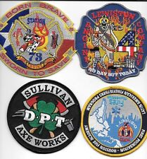 4 - New Fire Patches - Set # 352   fire patch