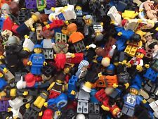 LEGO Minifigures - 10 Genuine Lego Mini Figures - Mixed Characters Job Lot Bulk