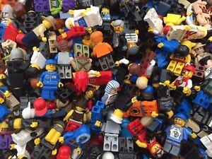 LEGO Minifigures - 10 Genuine Lego Mini Figures - Mixed Characters Job Lot Bulk
