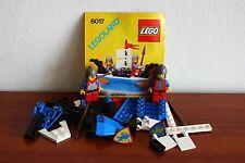 Lego Castle Lion Knights Set 6017-1 King's Oarsmen 100% complete free shipping!
