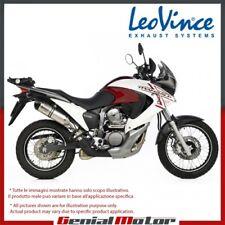 HONDA XL 700 V TRANSALP 2010 10 LEOVINCE SCARICO LV ONE EVO ACCIAIO INOX 8402E