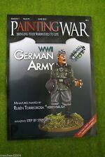 La PITTURA DI GUERRA NUMERO #1 Seconda Guerra Mondiale Esercito Tedesco libro/rivista