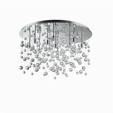 Ideal Lux neve Pl12 G9 Chrome - Ceiling Lighting (bedroom Children's (i0z)