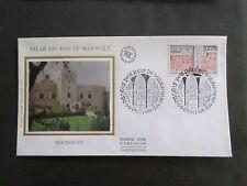 FRANCE, 1979, FDC 1° JOUR PERPIGNAN, PALAIS DES ROIS MAJORQUE, KINGS PALACE, VF