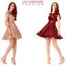 Short Sleeveless Sequin Skater Prom Formal Eve Party Dress