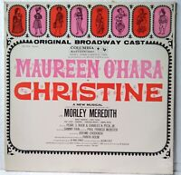 Christine Original Broadway Cast NM Masterworks LP Maureen O'Hara Love In India