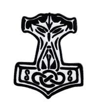 Thor's Hammer Mjolnir God of Thunder Nordic Norse Viking Hook Patch (PC3)