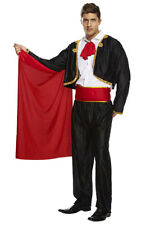 Mens Mexican Matador Outfit Spanish Bullfighter Bull Fighter Fancy Dress Costume