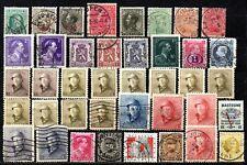 Lot de timbres anciens - lire la description.