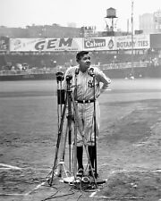 BABE RUTH DAY A GREAT PIECE OF BASEBALL HISTORY photo 8x10 yankees