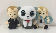 """Lots 3 pcs of The Boss Baby Movie 8"""" inches plush Suit, Diaper & Puppy New w/tag"""