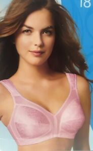 Playtex 18 Hour ULTIMATE Shoulder COMFORT 4693 WireFree PINK [CHOOSE SIZE] *New