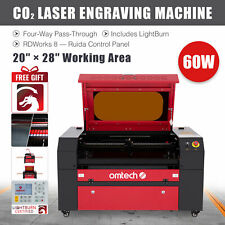 Omtech 60w 28 X 20 Co2 Laser Cutting Engraving Etching Machine With Lightburn