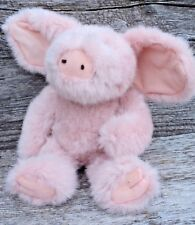 """Boyds Collection Jb Bean Series Pink Rosie O' Pigg Jointed 11"""" Beanbag Plush"""