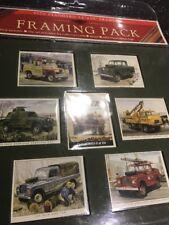 Golden Era Land Rover Collectible Cigarette Framing Card Pack,Framing, Vintage