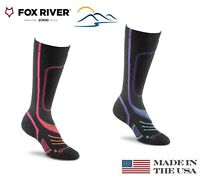 Fox River VVS Pro Women's Ski Socks Best Warm Wool Lightweight # 5591