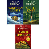Philip Pullman His Dark Materials Trilogy Series 3 Books Collection Set Pack New