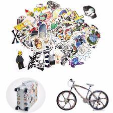 300 Random Skateboard Stickers bomb Vinyl Laptop Luggage Decals Dope Sticker Lot