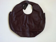 ZUR ART MALLORY LARGE HOBO BAG BROWN LARGE SOFT LEATHER PURSE TOTE BOHO