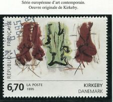 STAMP / TIMBRE FRANCE OBLITERE N° 2969 TABLEAU KIRKEBY /