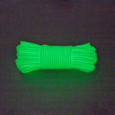 Glow In The Dark White 550 Cord 100ft Paracord Lanyard Type III 7 Strand Camp