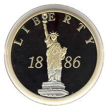 USA - 125 Jahre FREIHEITSSTATUE - LIBERTY - SWAROWSKISTEIN - ANSEHEN (9601/153N)