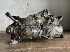 More details for late 19thc antique french rococo jardiniere / centrepiece.