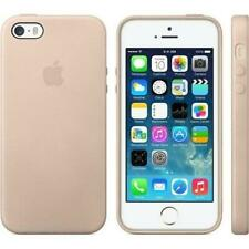 Apple Original Leather iPhone Case for iPhone 5/5S/SE Beige MF042LL/A