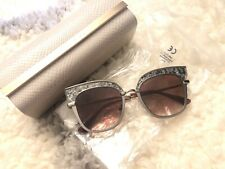 07fd14a73afa NEW Jimmy Choo JCH Rosy Sunglasses 0THP brown Silver100% AUTHENTIC