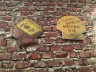 Shell oil wall signs suitable for Mamod / Wilesco diorama. Scale accessories