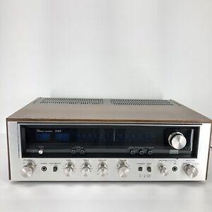 Vintage Sansui 6060 Radio Receiver AM FM Tested Working