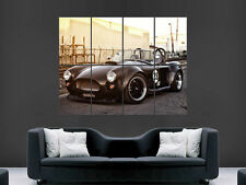 SHELBY AC COBRA CAR CLASSIC  ART WALL PICTURE POSTER  GIANT HUGE