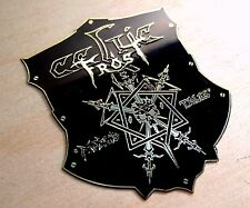 CELTIC FROST Morbid Tales Engraved Brass Badge Patch Pin, Collector's Grade