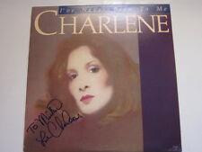 CHARLENE I've never been to me AUTOGRAPHED LP