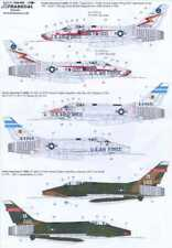 Xtra Decals 1/48 F-100D SUPER SABRE U.S.A.F. Part 1