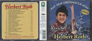 CD Herbert Roth  - Auf der Oberhofer Höh´ - Die schönsten Winterlieder