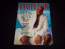 1993 JUNE VANITY FAIR FASHION MAGAZINE - SEAN CONNERY COVER - PHOTOS - J 1094