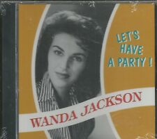 WANDA JACKSON - Let's Have A Party - BRAND NEW -  CD